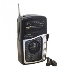 Lloytron Entertainer 2 Band DC Portable Radio